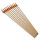 "10x 26"" Wooden Bow Arrows"