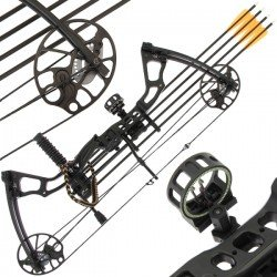 15-70lb 'Chikara' Compound Bow Set