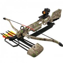 175lb Jaguar MK2 Crossbow Rifle Kit with Red Dot Sight