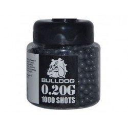Bulldog 0.20G 1000 Black Airsoft BB Pellets