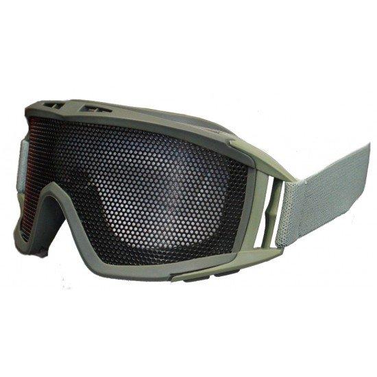 Big Mesh Goggles Green