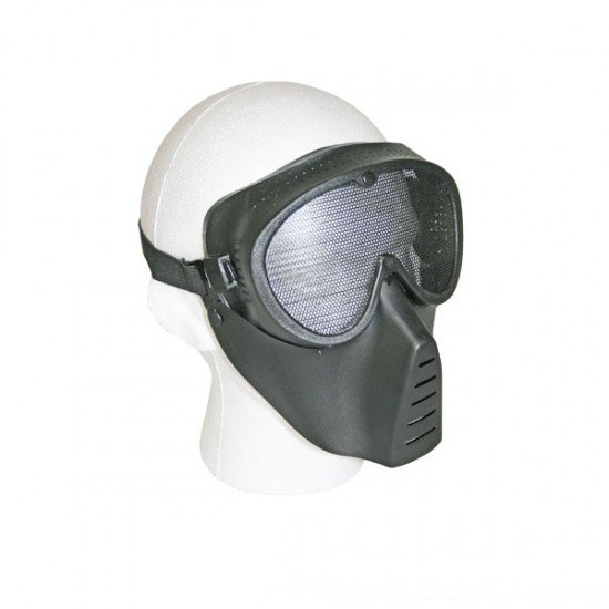 BB Gun Face Mask with Mesh Front