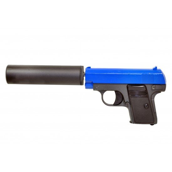 G9A Full Metal Handgun with SIlencer