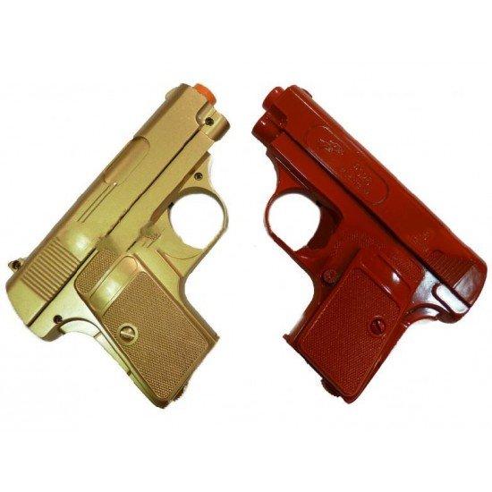 P328B Small Handgun (Gold and Red)