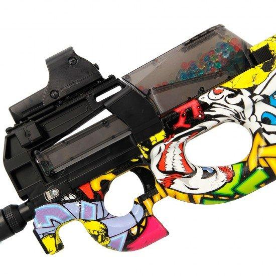 P90 Graffiti GelSoft Gun