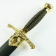 Royal Golden Britannia Dagger