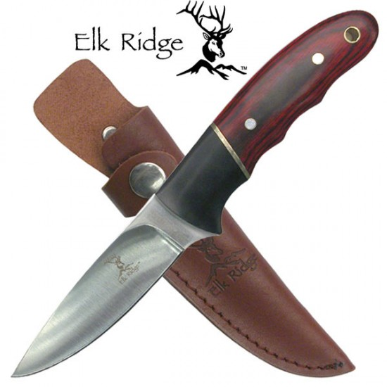 Pakkawood Sheath Knife