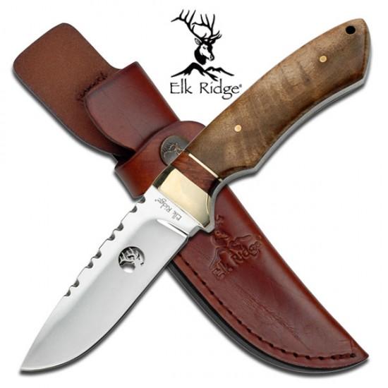 Royale Wood Handle Hunting Knife
