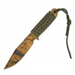 """7"""" Laced Knife with Sheath"""