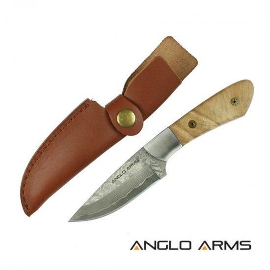 Damascus Steel Skinning Knife 722