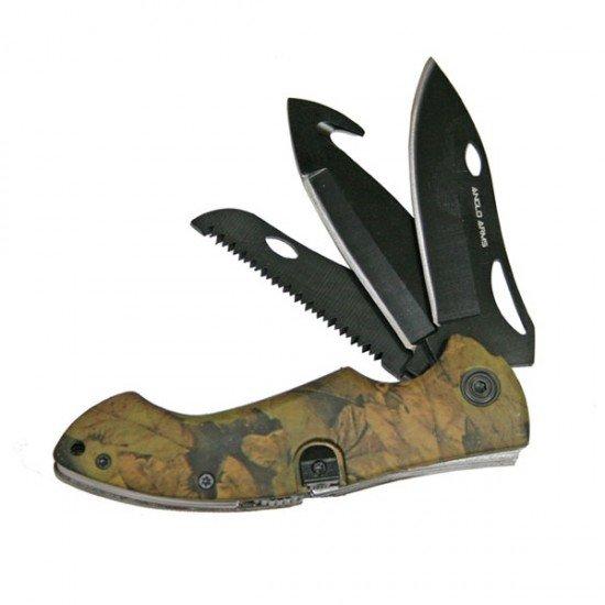 Camo Multi Tool with Three Blades