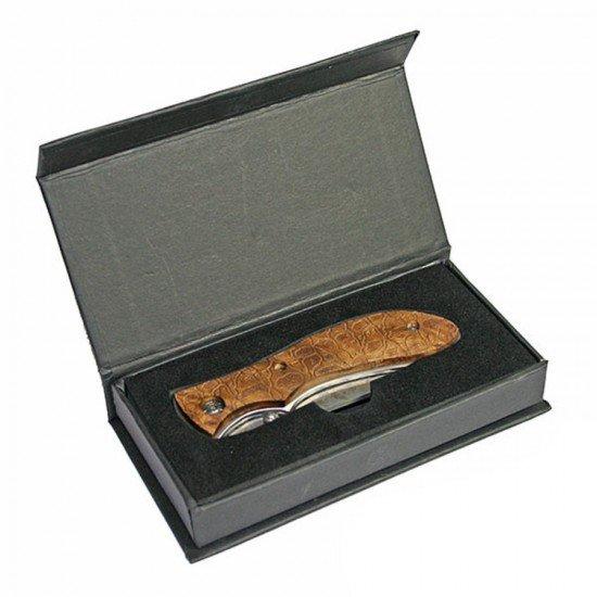 Damascus Steel Lock Knife 991