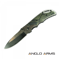 Camo Onlay Lock Knife
