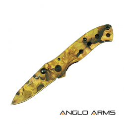Autumn Camo Lock Knife