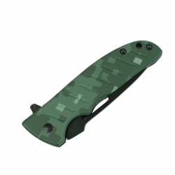 Green Camo Lock Knife