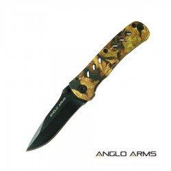 Mini Lock Knife Camo Handle