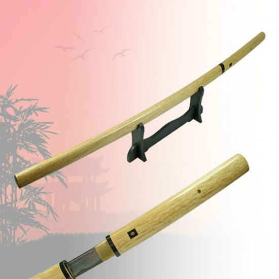 Classic Wooden Katana Sword Hand Forged