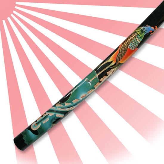 Peacock Katana Sword Hand Forged