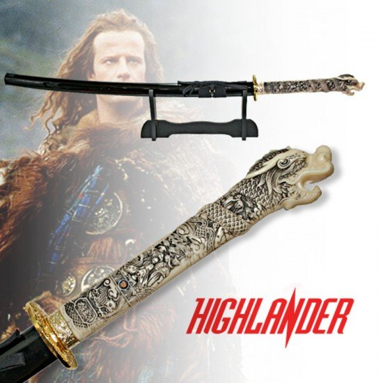 Highlander Katana Sword Hand Forged