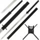 Deadpool Swords & Harness