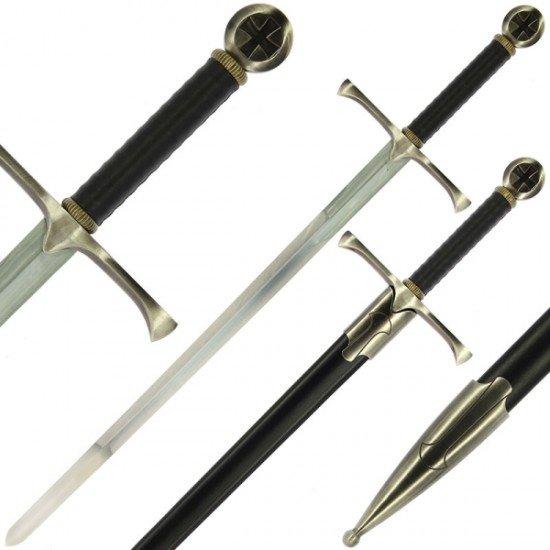Maltese Cross Cursader Style Sword